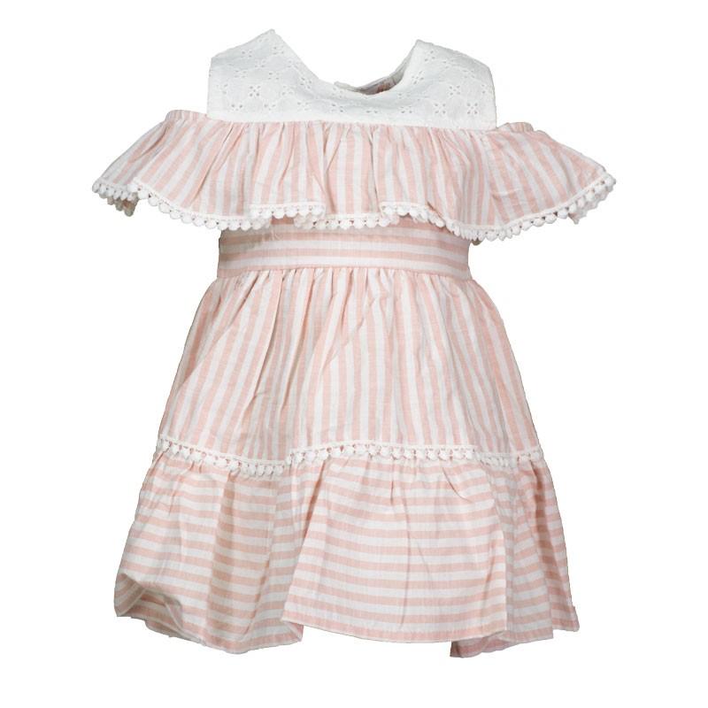 Φόρεμα αμάνικο ριγέ 328 (1-4 ετών)