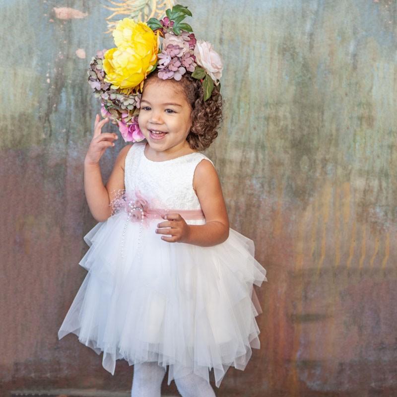 Φόρεμα Βάπτισης 713 Carousel Baby Collection