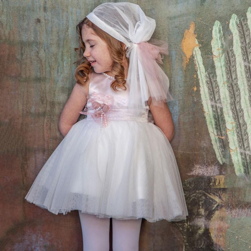 Φόρεμα Βάπτισης 821 Carousel Baby Collection