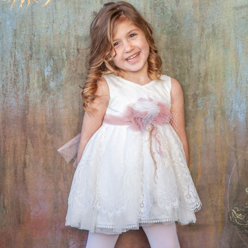 Φόρεμα Βάπτισης 822 Carousel Baby Collection