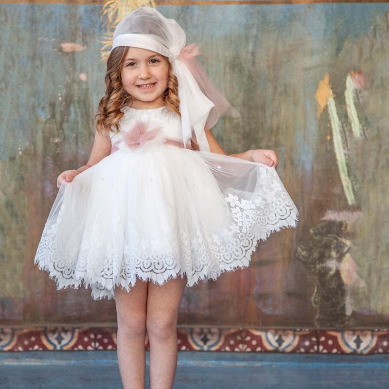Φόρεμα Βάπτισης 823 Carousel Baby Collection