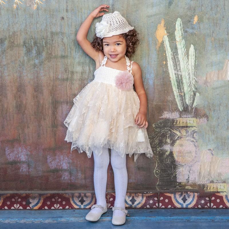 Φόρεμα Βάπτισης 829 Carousel Baby Collection