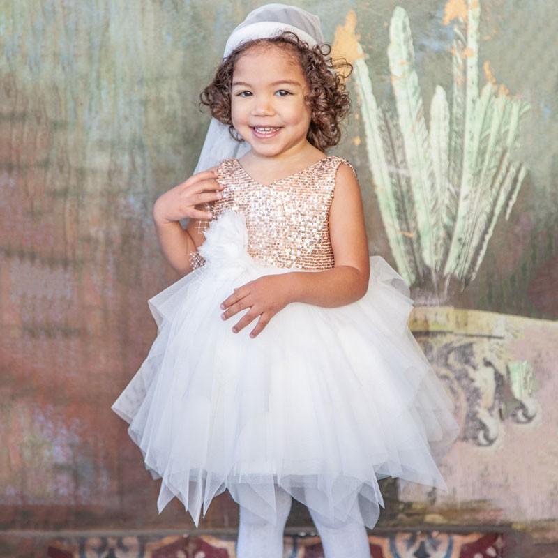 Φόρεμα Βάπτισης 834 Carousel Baby Collection