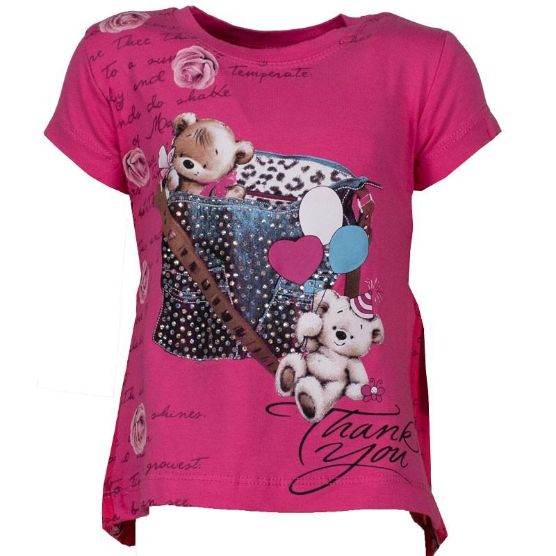 Μπλούζα κορίτσι 4903 (1-5 ετών)