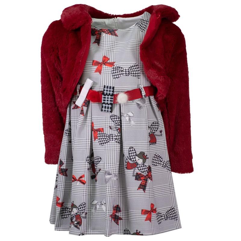 Φόρεμα Εβίτα 203236 (1-6 ετών)