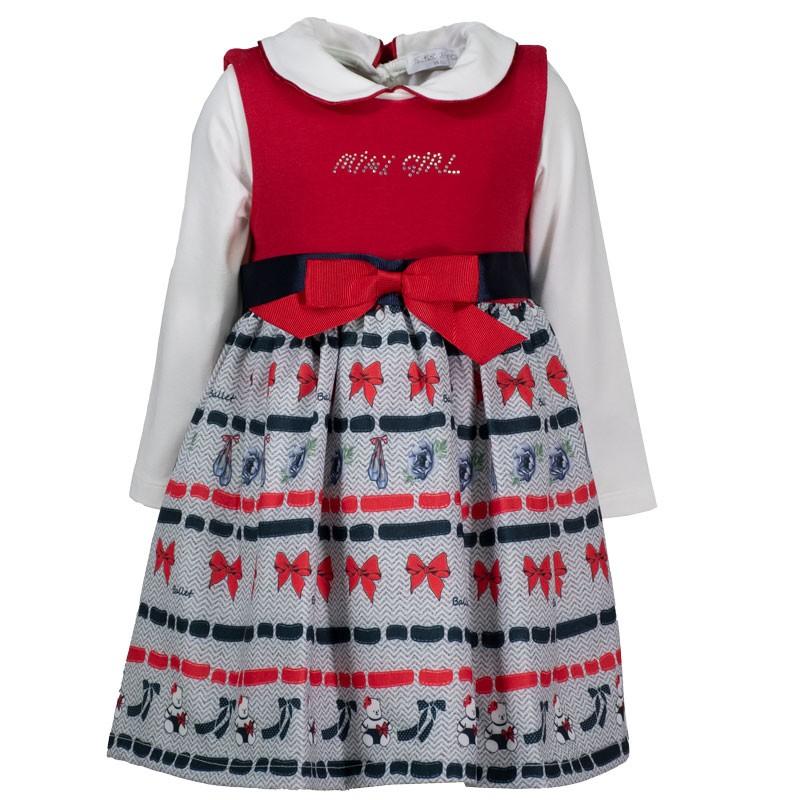 Φόρεμα βρεφικό Εβίτα 203538 (6-18 μηνών)