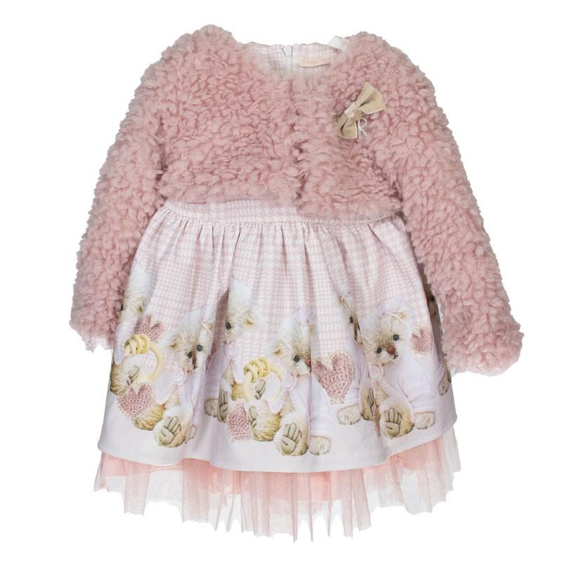 Βρεφικό Φόρεμα με μπολερό κορίτσι 3300 (9-24 μηνών)