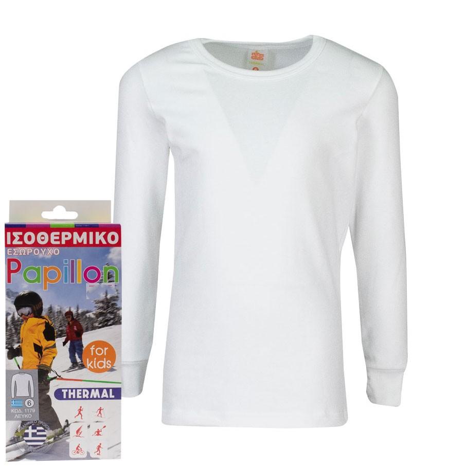 Ισοθερμικη Μπλούζα 11791 Λευκό (4-16 ετών)