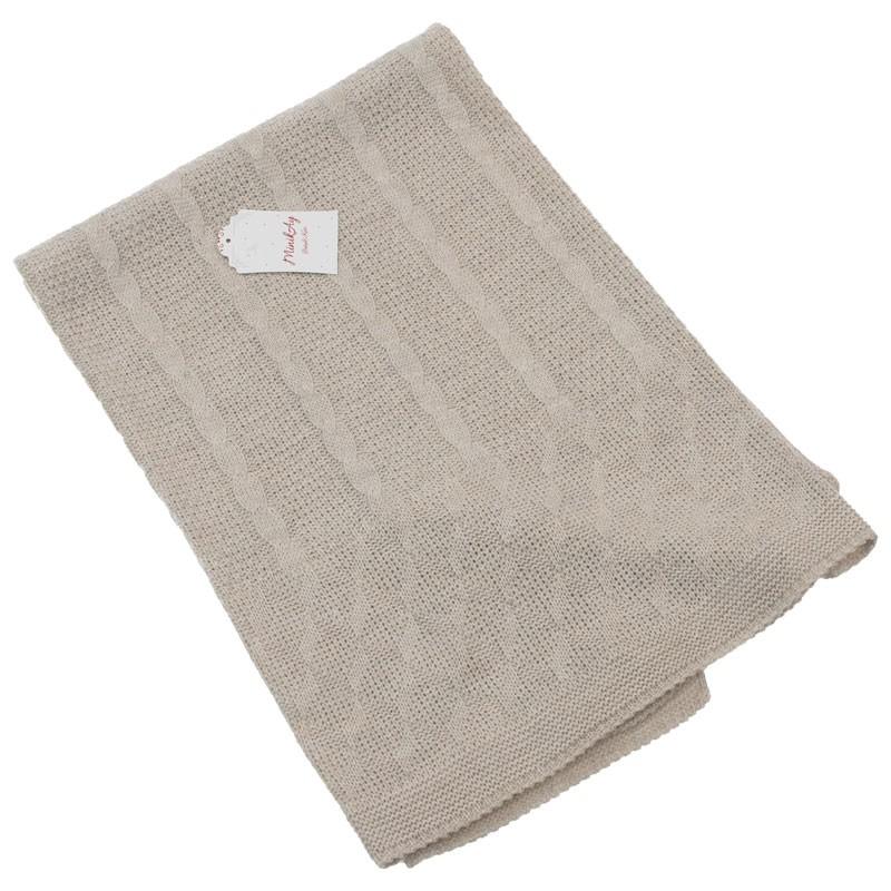 Πλεκτή κουβέρτα αγκαλιάς 404 (95x80cm)