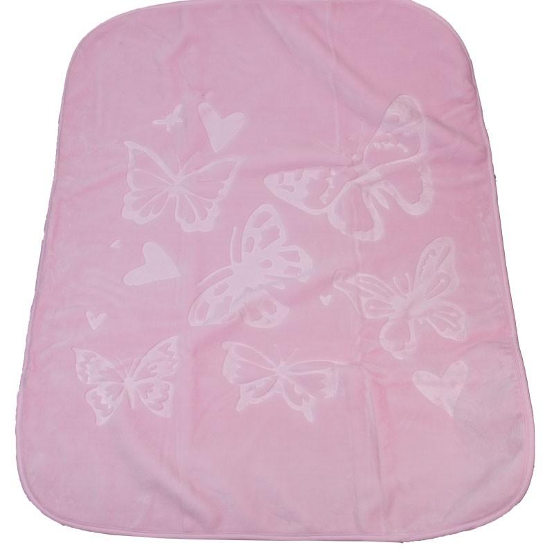 Κουβέρτα 3201 βελουτέ (120x105 εκ.)