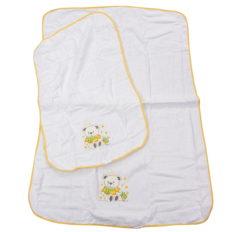 Σετ πετσέτες 2τμχ. αρκουδάκι 3651 (110x75 & 80x50)