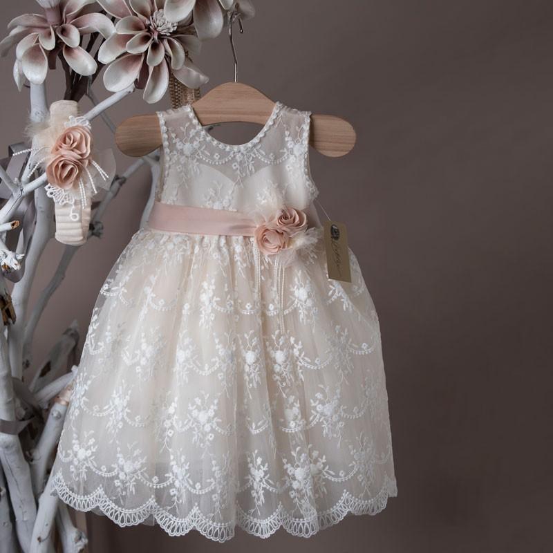 Φόρεμα Βάπτισης 21k405 La Christine