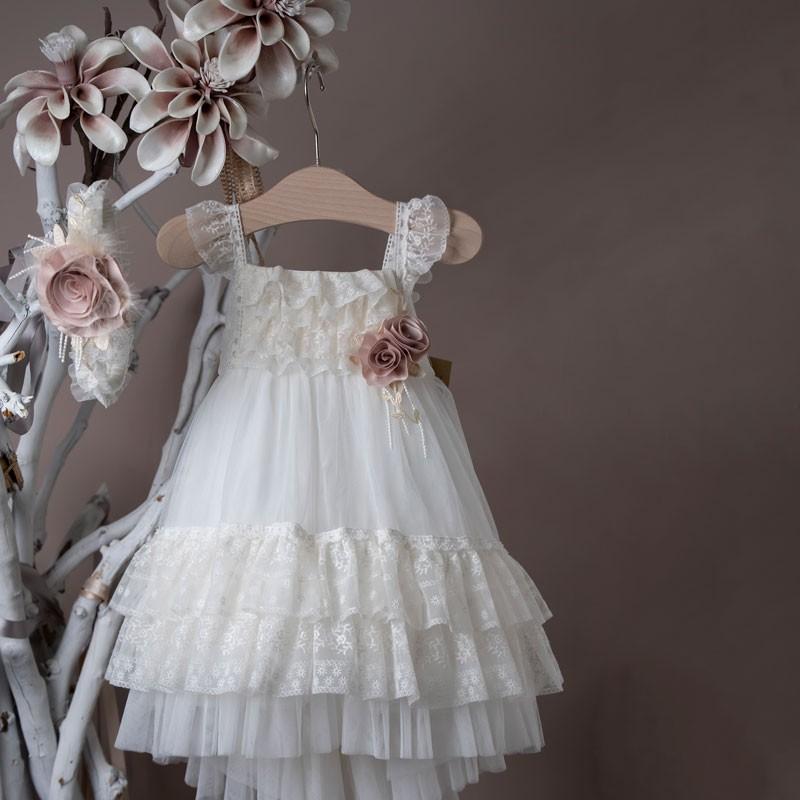 Φόρεμα Βάπτισης 21k453 La Christine