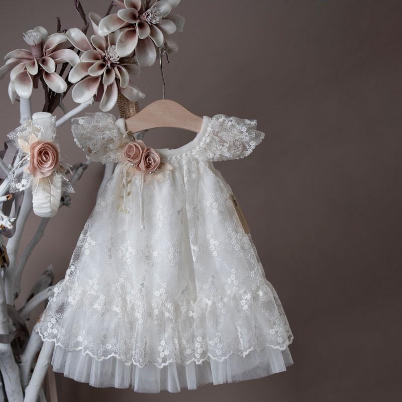 Φόρεμα Βάπτισης 21k455 La Christine