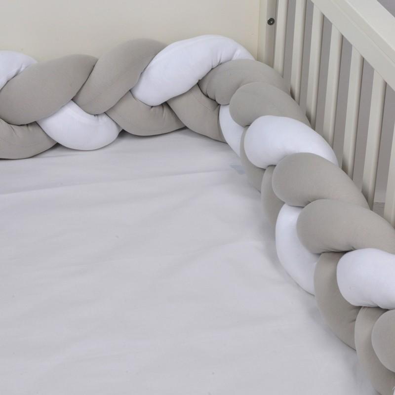 Πλεξούδα Πάντα Ζέρσευ Μόκα/λευκό 18x200 Des.140 Baby Oliver