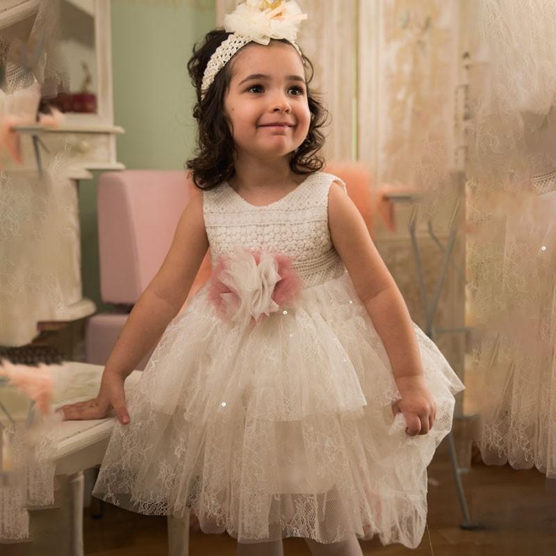 Φόρεμα Βάπτισης 840 Carousel Baby Collection