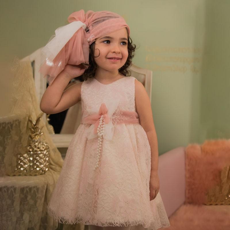 Φόρεμα Βάπτισης 841 Carousel Baby Collection