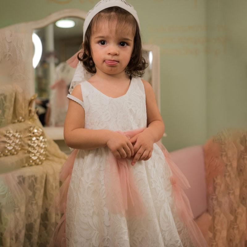 Φόρεμα Βάπτισης 854 Carousel Baby Collection