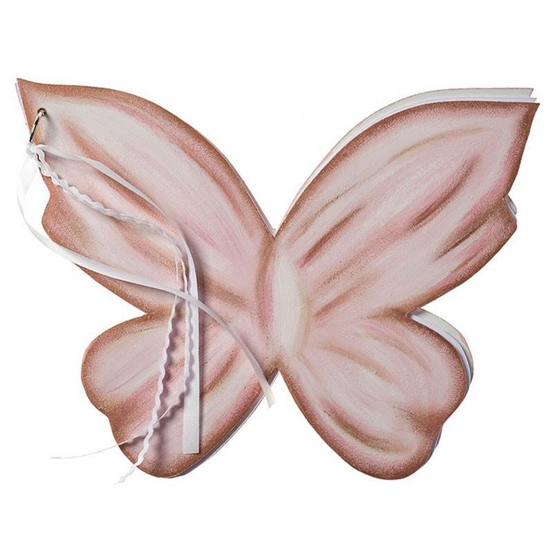 Ξύλινο Ευχολόγιο ΕΤΖ23 Πεταλούδα Nuova Vita