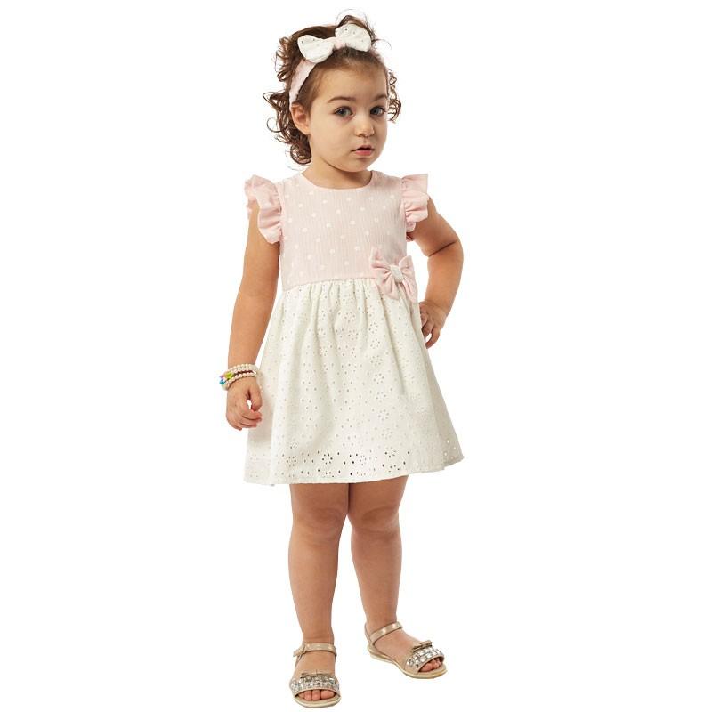 Βρεφικό φόρεμα 214533 Εβίτα (6-18 Μηνών)
