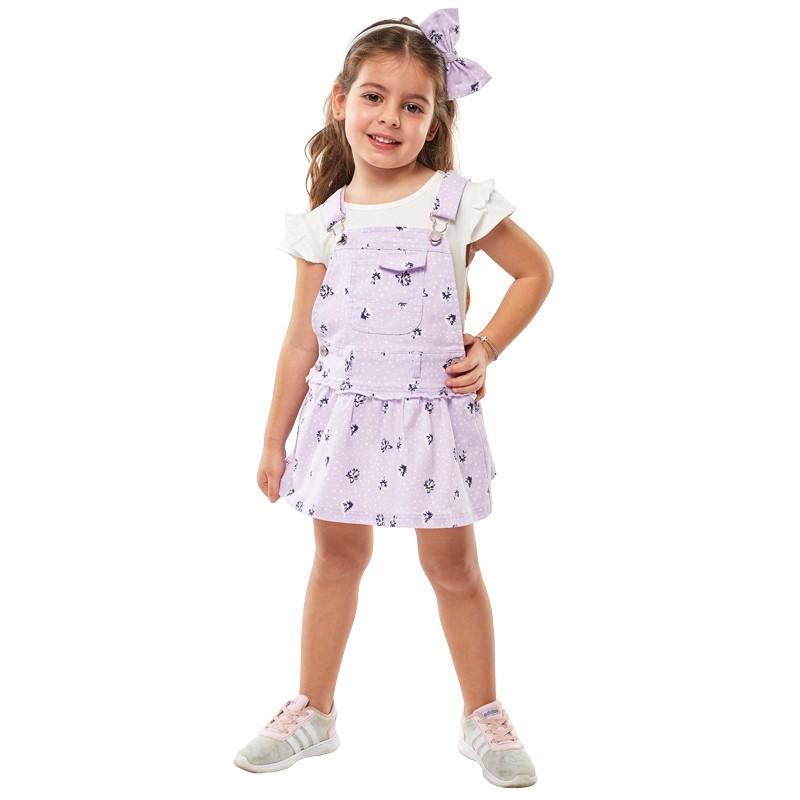 Σαλοπέτα φούστα 214240 Εβίτα (1-6Ετών)