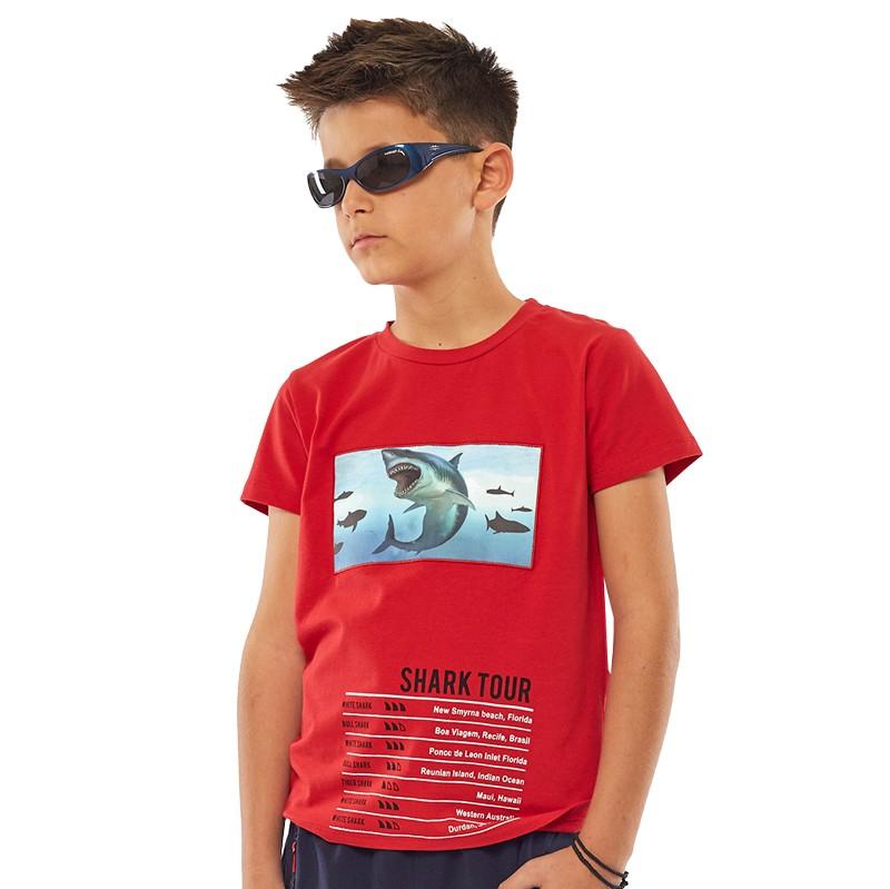 Μπλούζα 214731 Hashtag (6-16 Ετών)