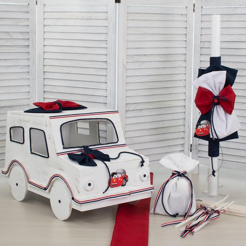 Οικονομικό Πακέτο Αγόρι Makis Tselios 573 Αυτοκίνητο Ξύλινο