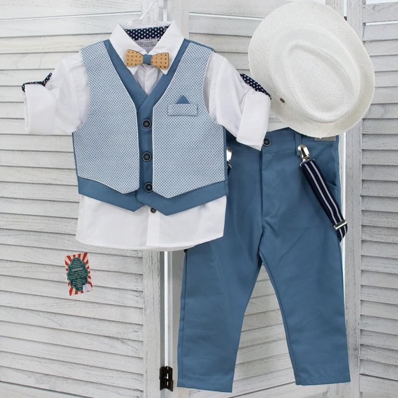 Κοστούμι Βάπτισης 282δ Carousel baby collection