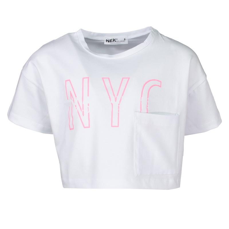 Μπλούζα κορίτσι 26121 Νεκ (6- 16 Ετών)