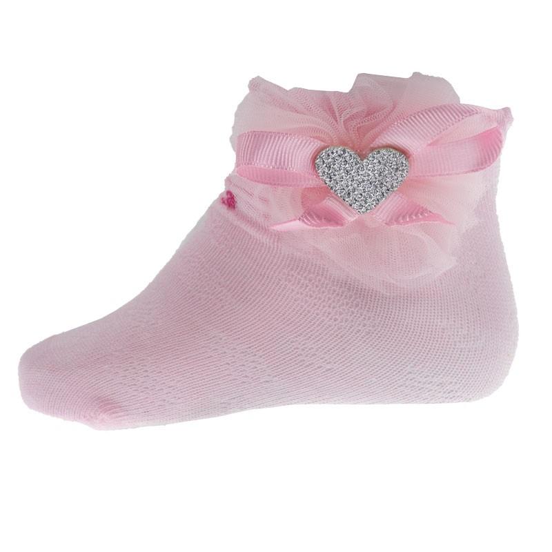 Κάλτσες κορίτσι καρδούλα 6767 (Νο 17-28)