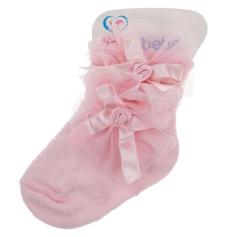 Κάλτσες κορίτσι 0610 τριαντάφυλλο (Νο 17)