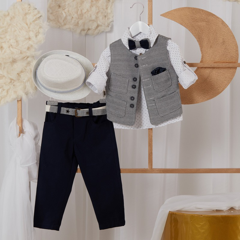 Κοστούμι Βάπτισης GL46 Guy Laroche Baby (12-24 Μηνών)