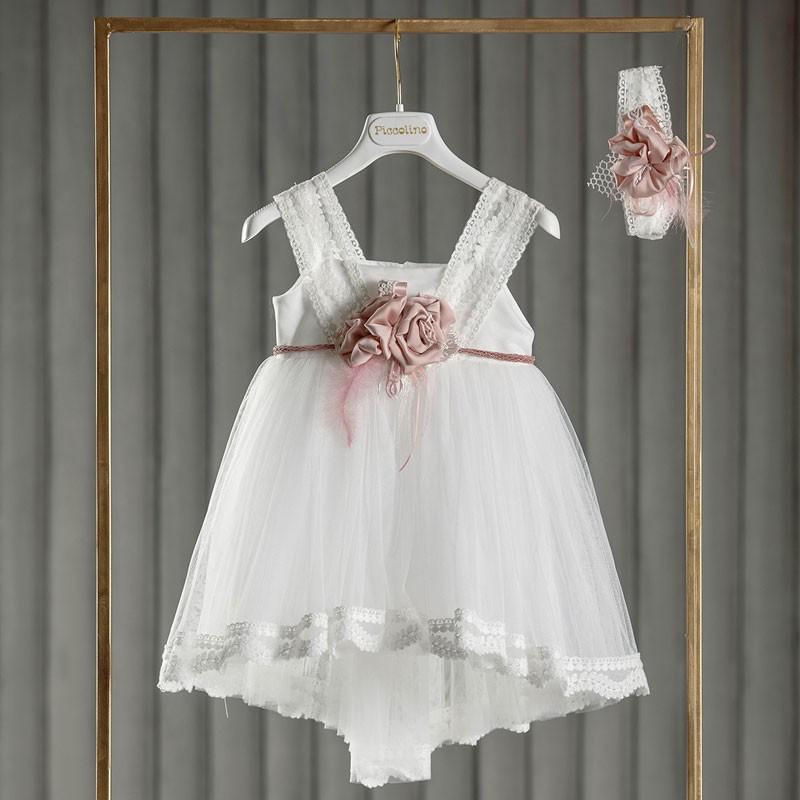 Φόρεμα Βάπτισης piccolino Marie Ivory DR21S04
