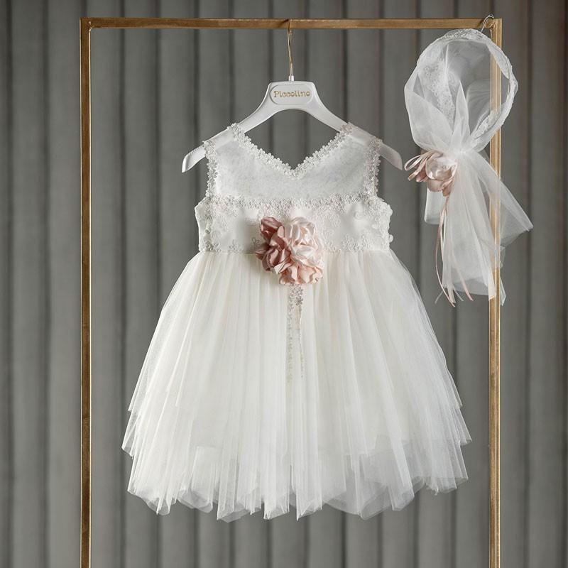 Φόρεμα Βάπτισης piccolino Sophie Ivory DR20S06