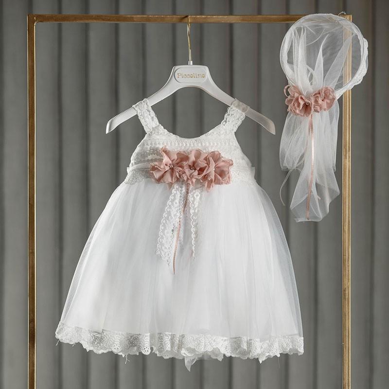 Φόρεμα Βάπτισης piccolino Wilma Ivory DR20S29