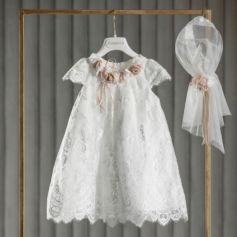 Φόρεμα Βάπτισης piccolino Renata Ivory DR20S32