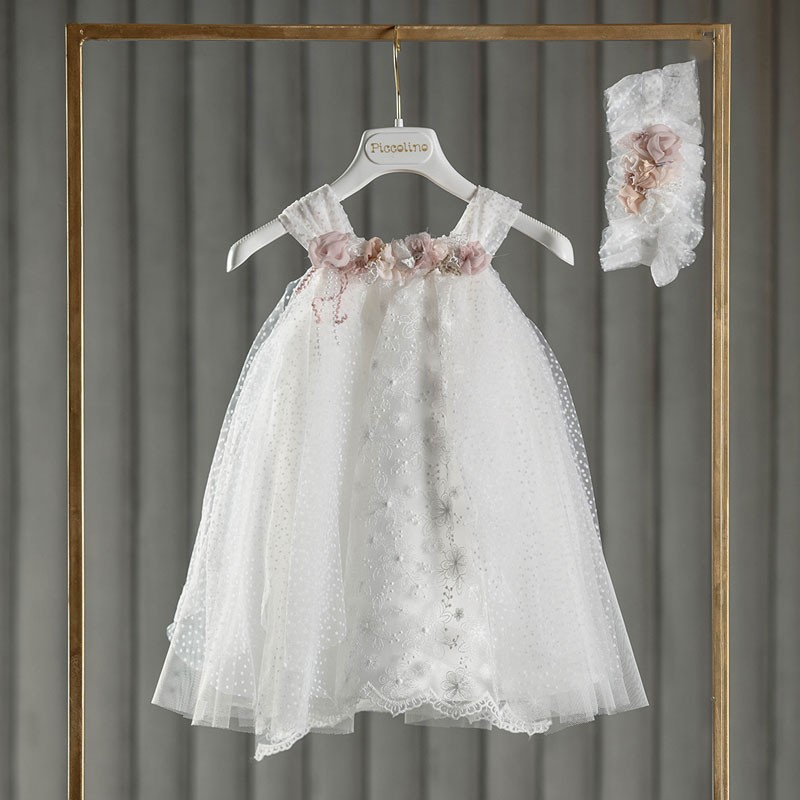 Φόρεμα Βάπτισης piccolino Amanda Puce DR21S40