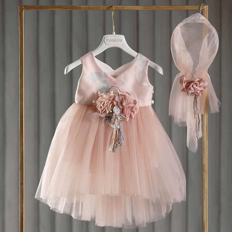 Φόρεμα Βάπτισης piccolino Cheryl Powder DR21S41