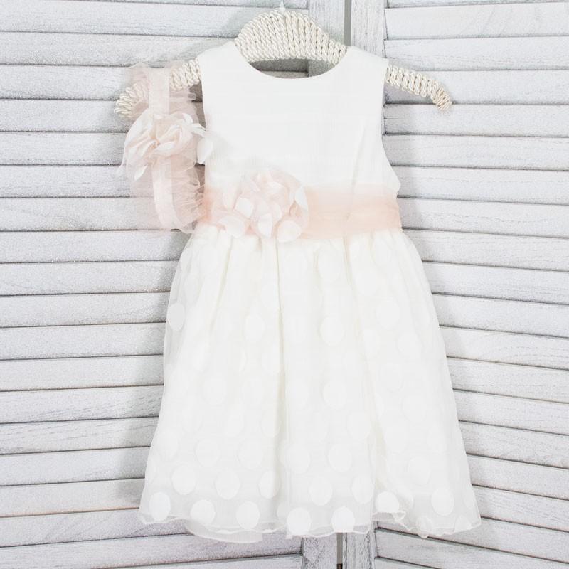 Φόρεμα Βάπτισης 21MT842 Makis Tselios Baby (12-24 Μηνών)