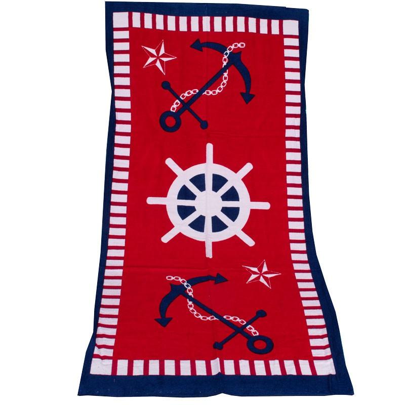 Πετσέτα θαλάσσης τιμόνι 102030