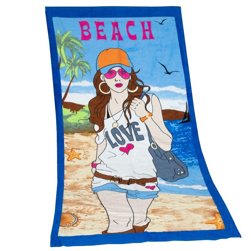 Πετσέτα θαλάσσης Beach 103040