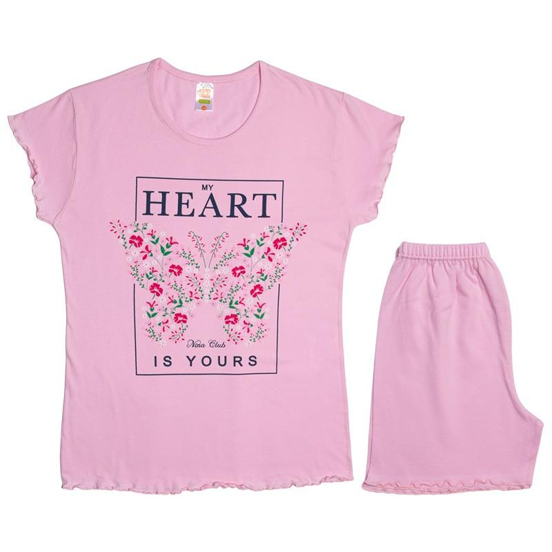 Πυτζάμα 530 κορίτσι Heart (12-16 ετών)