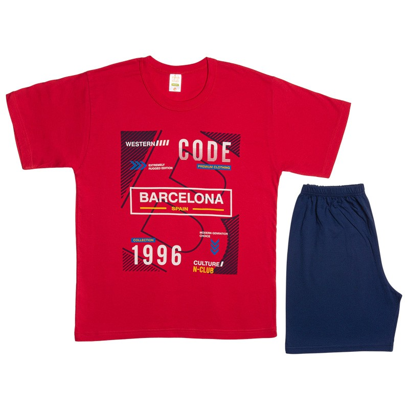 Πυτζάμα 500 αγόρι Barcelona (12-16 ετών)