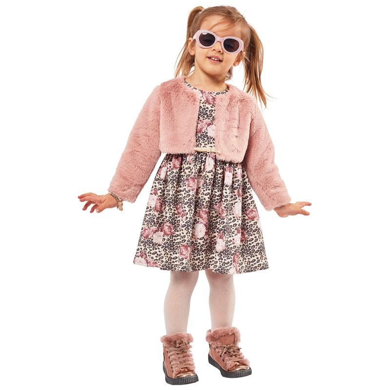 Φόρεμα με μπολερό 215295 Εβίτα (1-6 ετών)