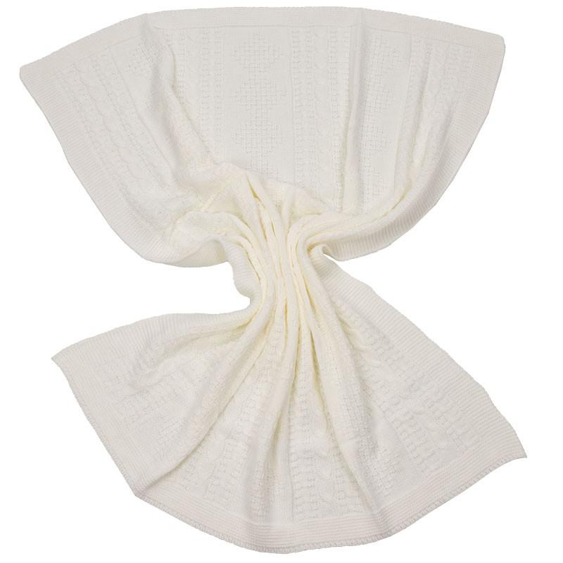 Πλεκτή κουβέρτα αγκαλιάς 630 (100x90εκ.)