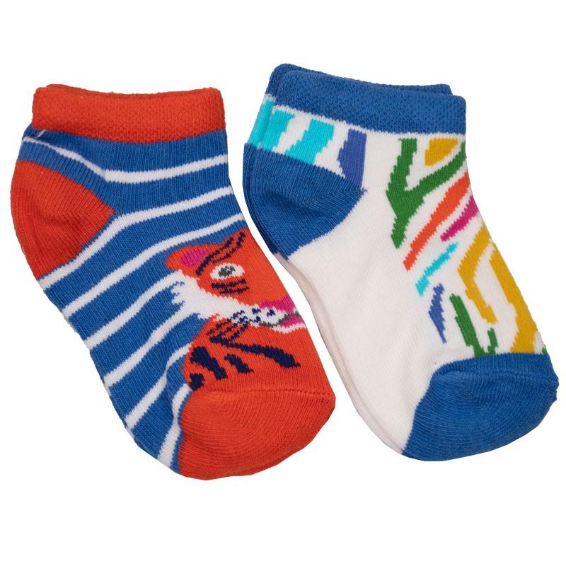 Βρεφικές κάλτσες 2τμχ 025 zoo (Νο 18-23)