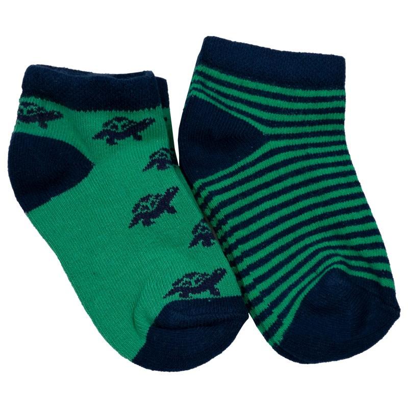 Βρεφικές κάλτσες 2τμχ 024 green (Νο 18-23)