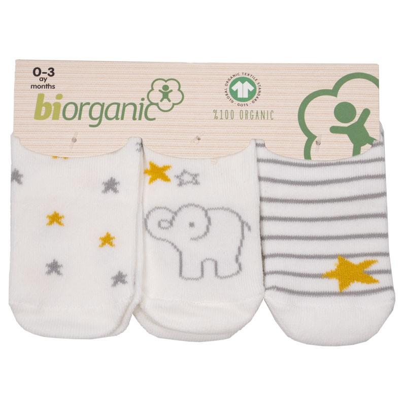 Βρεφικές κάλτσες 3τμχ 68238 strips (one size)