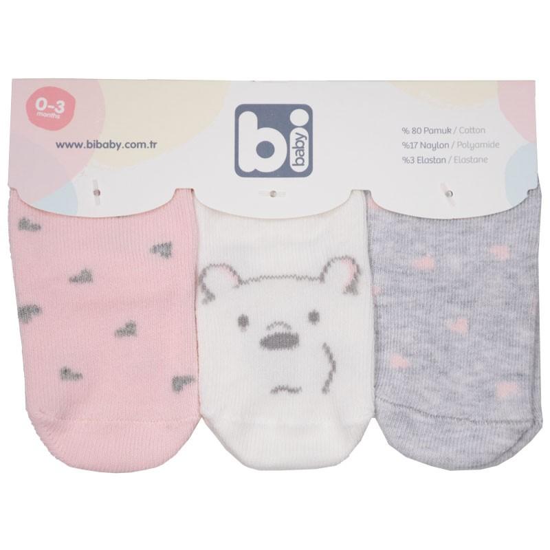 Βρεφικές κάλτσες 3τμχ 68335 bear (one size)
