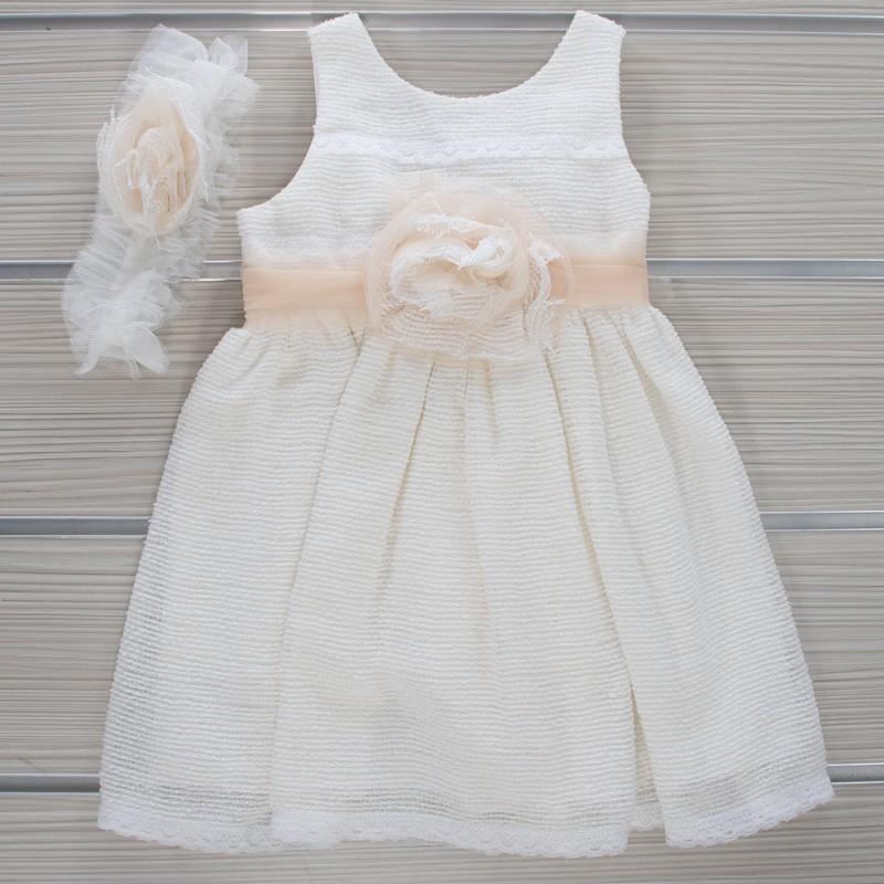 Φόρεμα Βάπτισης 21MT849 Makis Tselios Baby (12-24 Μηνών)
